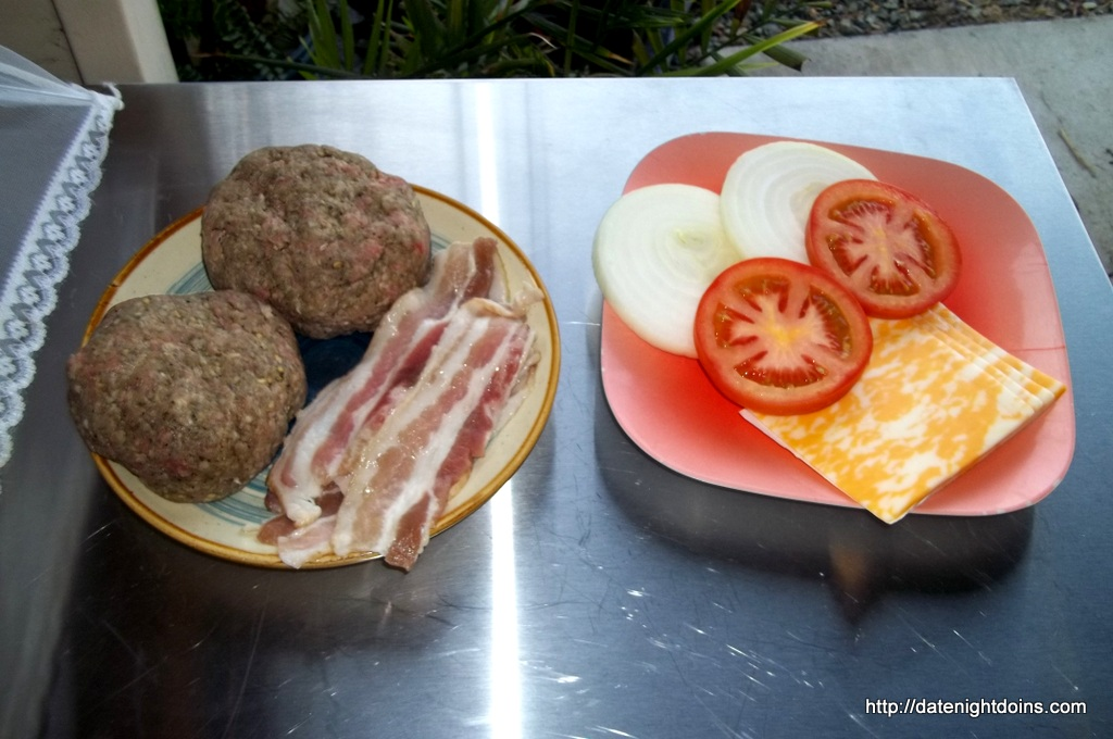 All American Burgers - Date Night Doins BBQ For Two