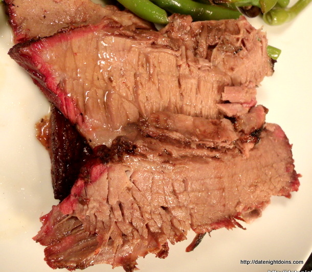 Smoked Brisket, wood pellet grill, BBQ, smoker, recipe, how to BBQ, Ken Patti BBQ, Date Night recipe, pellet smoking