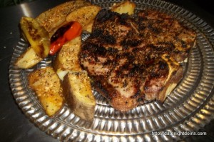 Blackened Porterhouse Steak