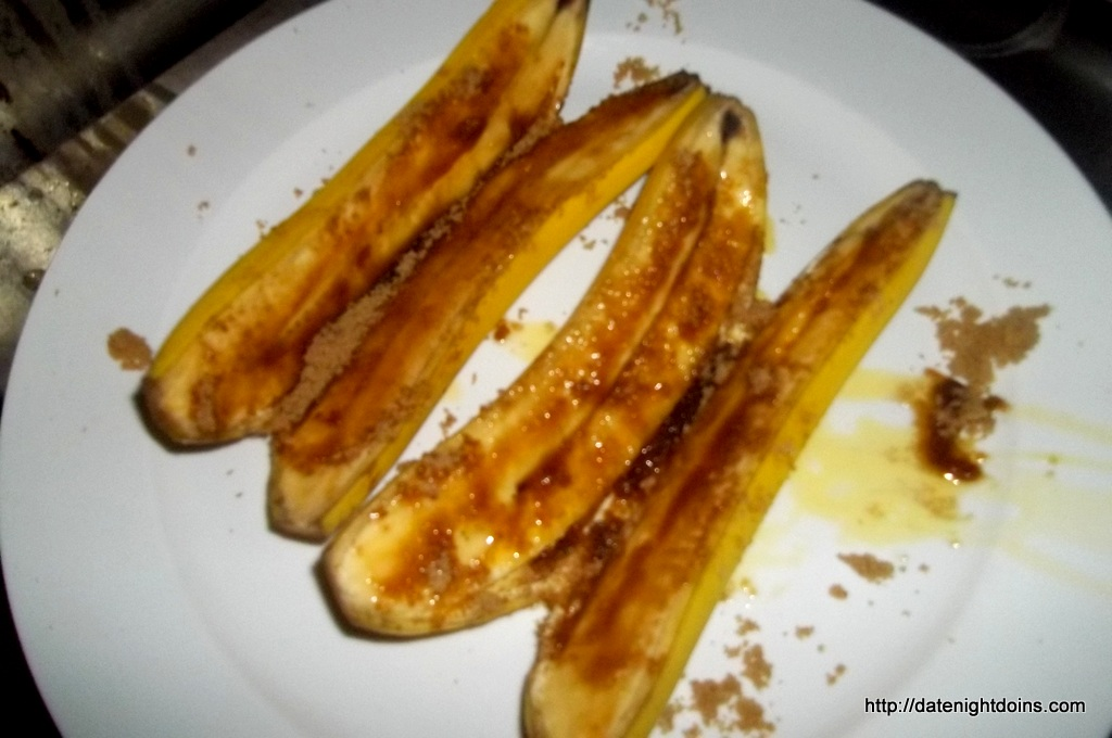 Grilled Banana Split, wood pellet, grill, BBQ, Smoker, Recipe