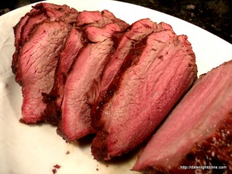Smoked Tri-Tip, wood pellet grill, BBQ, smoker, recipe