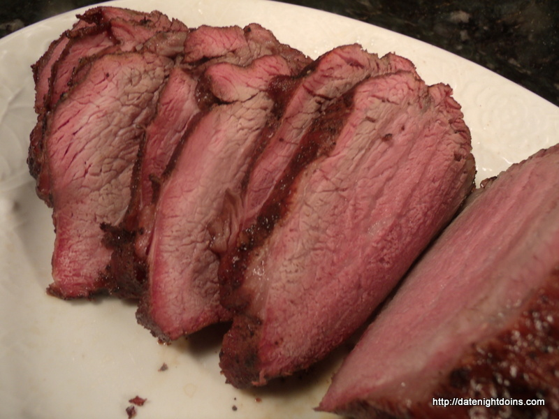 Smoked Tri-Tip pellet grill BBQ smoker recipe