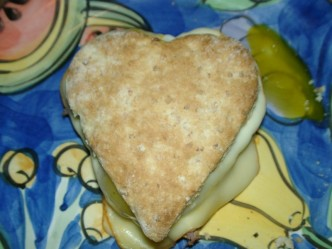 Valentine Breakfast Biscuit recipe