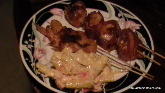 Smoked Shrimp Bacon Wrapped Scallops Date Night Doins