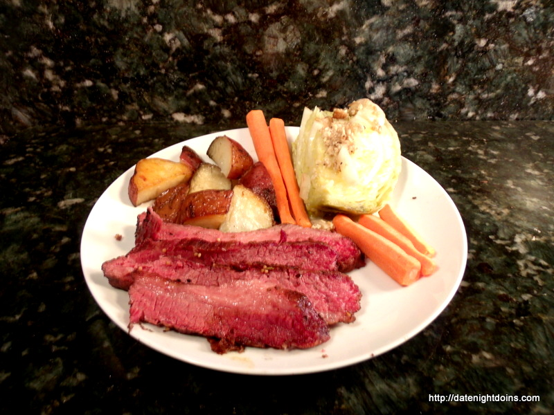 Corned Beef, Cabbage, wood pellet, grill, BBQ, Smoker, recipe