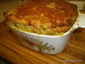 Chili Corn Pudding