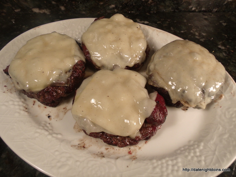 Double Stacked Stuffed Burgers