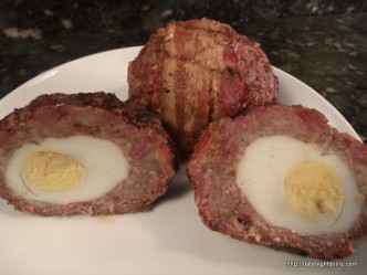 Scotch Eggs Texas Style pellet grill recipe BBQ smoker