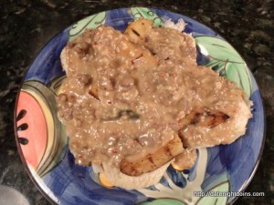 Not Your Momma's Biscuits & Gravy