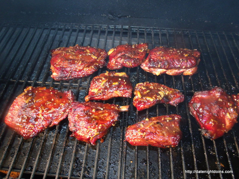 South Of The Border Rib Tips Date Night Doins Bbq For Two