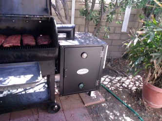 Review Louisiana's New Cold Smoker pellet grill recipe BBQ smoker