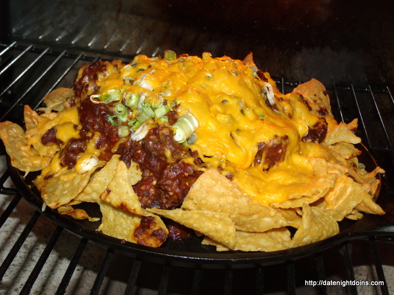 Easy Chili Nachos Date Night Doins Bbq For Two