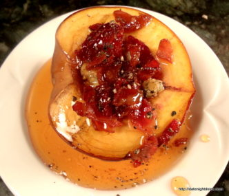 Grilled Stuffed Peaches, Grill Grate, Maverick, HPBA, KCBS, How To BBQ, Ken Patti BBQ, Pellet Cooking, Bull Racks, Date Night Butt Rub, Date Night Recipe,