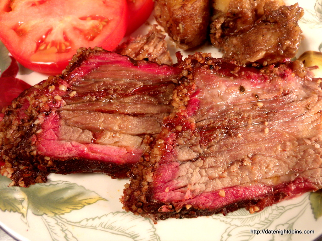 Smoked Chuck Roast, wood pellet, grill, BBQ, smoker, Recipe