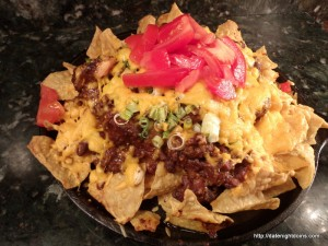 Easy Chili Nachos