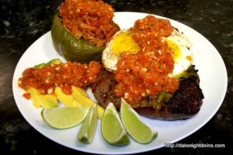 Spanish Steak Sofrito, wood pellet, grill, BBQ, Smoker, recipe
