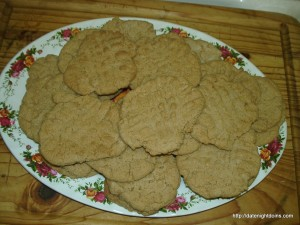 Mom's Peanut Butter Cookies