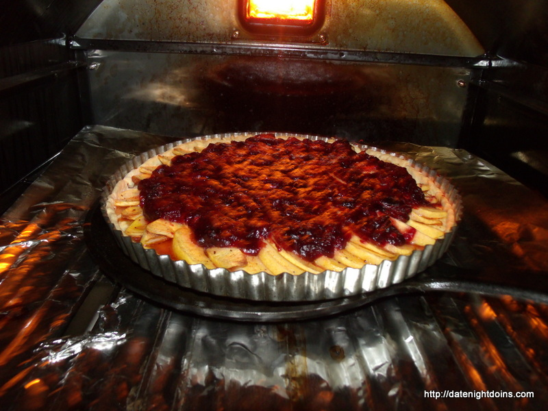 Apple Cranberry Tart pellet grill Recipe BBQ Smoker