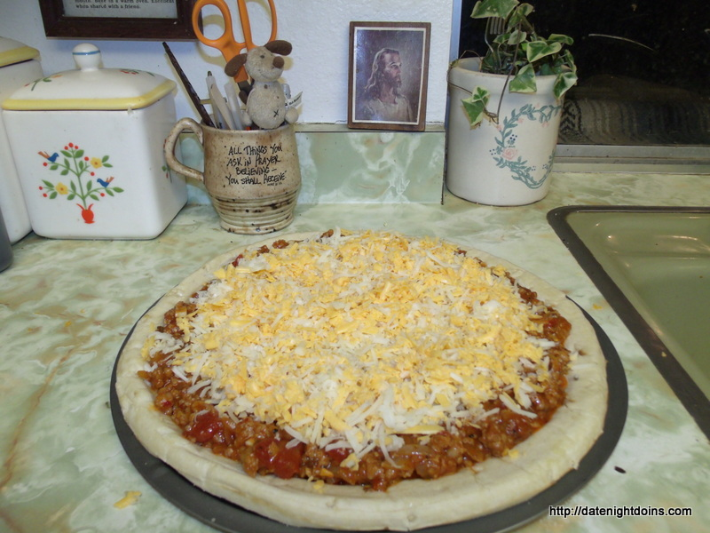 Sloppy Joe Pizza pellet grill recipe BBQ smoker