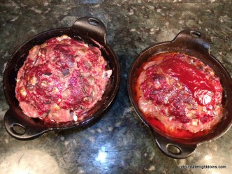 His and Hers Personal Date Night Meatloaf pellet grill recipe BBQ smoker