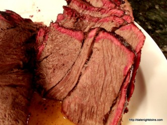 Roast Beef, Slow Smoked, wood pellet, grill, BBQ, Smoker, recipe