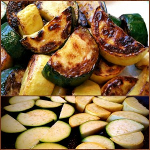 SEARED ZUCCHINI & YELLOW SQUASH