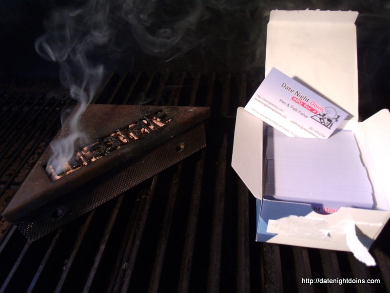 Smoken Business Cards pellet grill recipe BBQ smoker