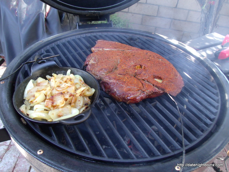Patti's Philly Cheese Steak, wood pellet grill , grilling, BBQ, smoke, kamado recipe