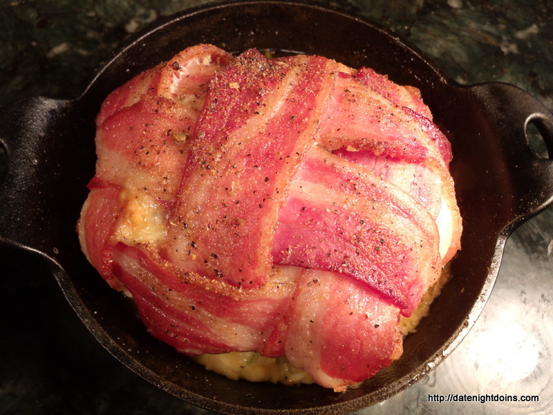 Bacon Wrapped Stuffed Chic, wood pellet, grill, BBQ, smoker, outdoor oven