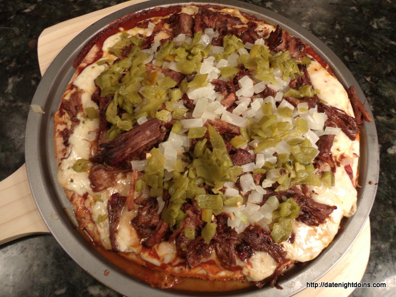 Fiery Cowboy Pizza, wood pellet, grill, BBQ, smoker, recipe