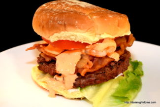 The Cajun Burger, wood pellet, grill, BBQ, smoker, recipe