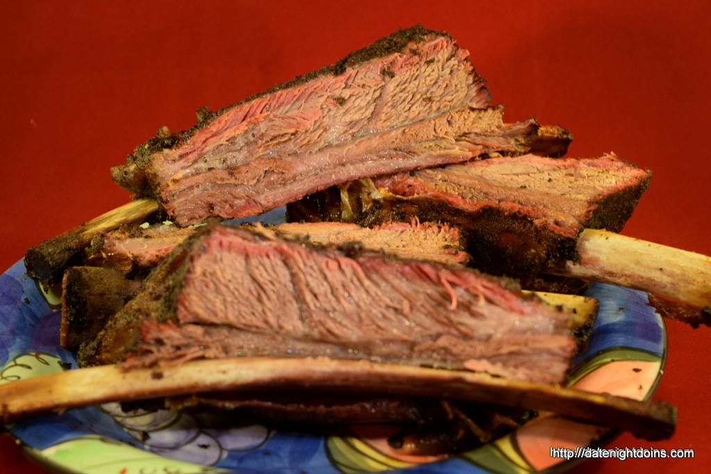 Caveman Meat : Caveman beef ribs date night doins bbq for two