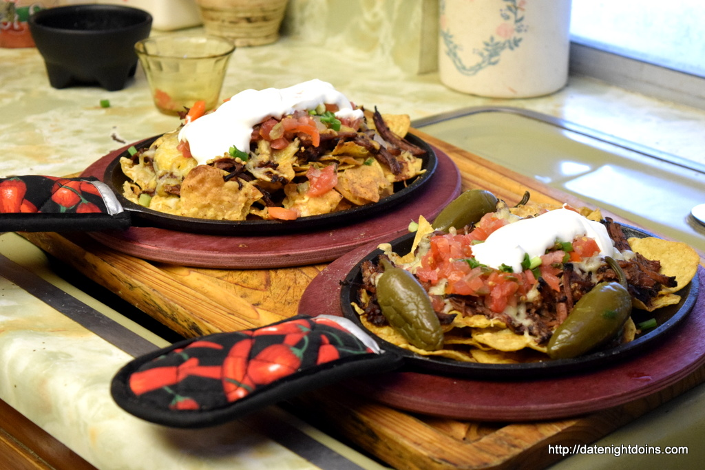 His & Hers Shredded Beef Nachos, wood pellet grill, BBQ, smoker, recipe