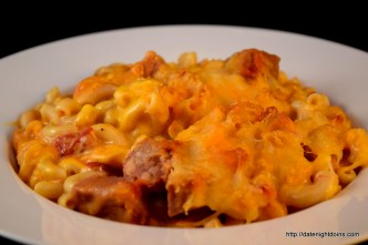 Hammy Mac & Cheese, wood pellet, grill, BBQ, smoker, recipe