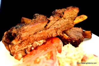 Plank Beef Ribs, wood pellet, grill, BBQ, smoker, recipe