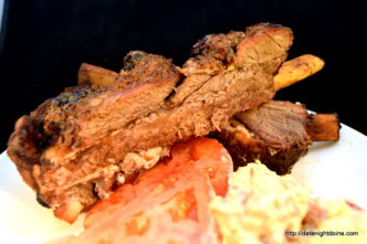 Plank Beef Ribs on the Davy Crockett GMG's Tailgater, wood pellet, grill, BBQ, Smoker, recipe