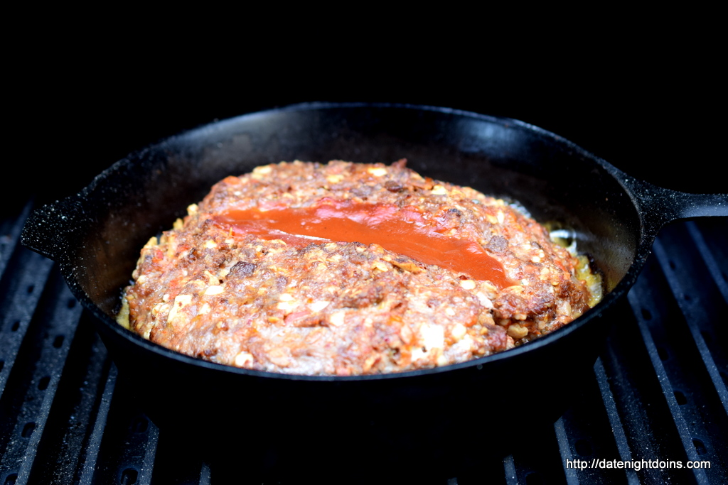 Bacon Blue Meatloaf - Date Night Doins BBQ For Two