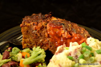 Bacon Blue Meatloaf, wood pellet, grill, BBQ, smoker, recipe