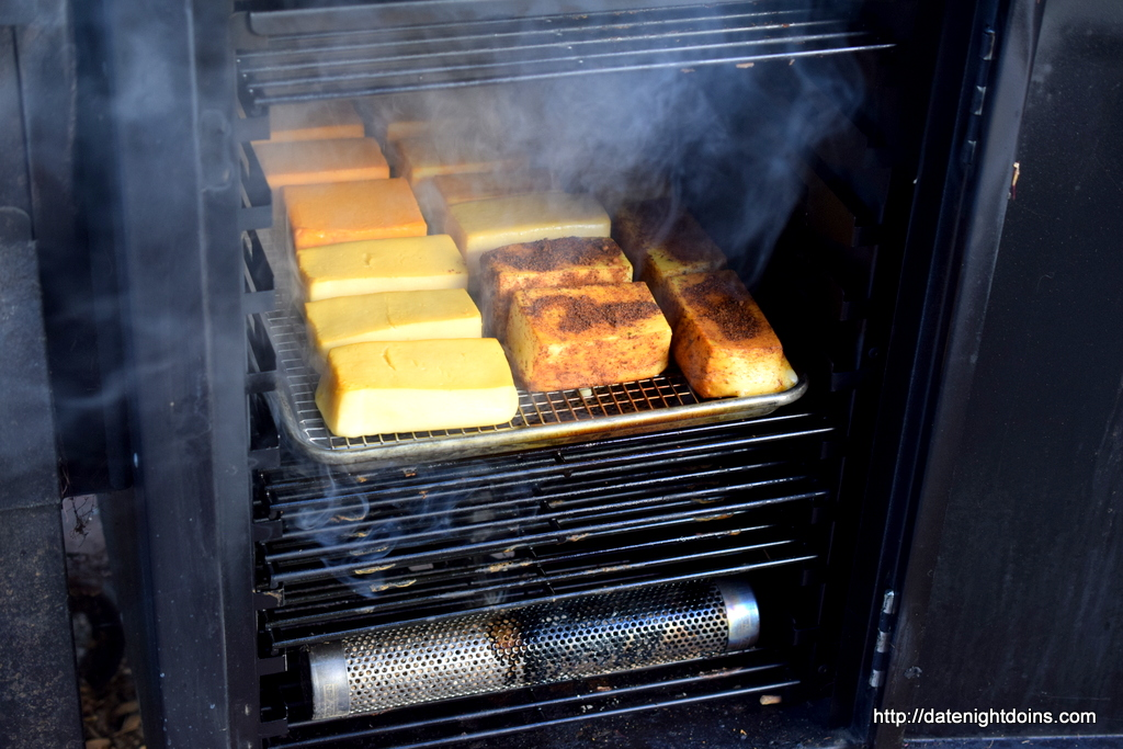Cold Smoked Cheese In The Louisiana Cold Smoke Box Date