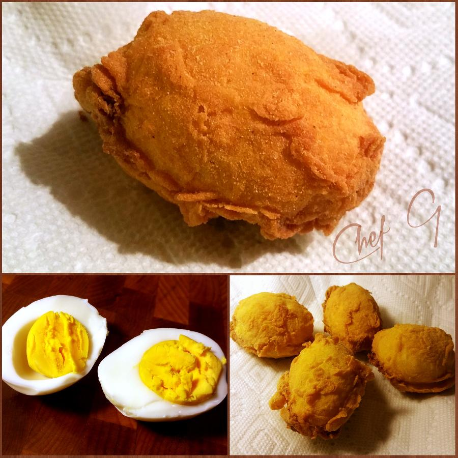 Guest Chef G's Deep Fried Deviled Eggs