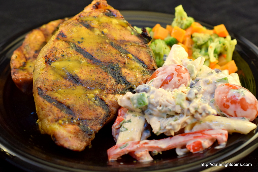 BBQ Pork Chops with South Carolina-Style Mustard Barbecue ...