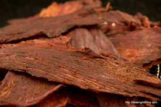 Chipotle Beef Jerky, wood pellet, grill, BBQ, smoker, recipe