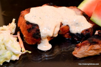 Grilled Pork Roast Alabama White Sauce