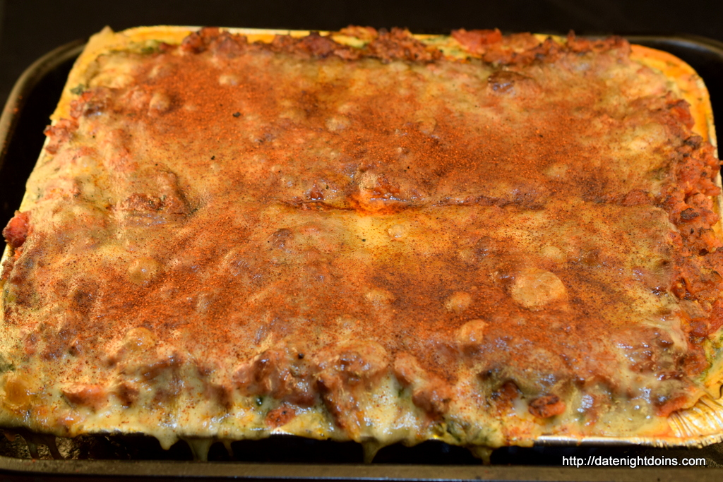 Traditional Sausage Lasagna, wood pellet, grill, BBQ, smoker, recipe