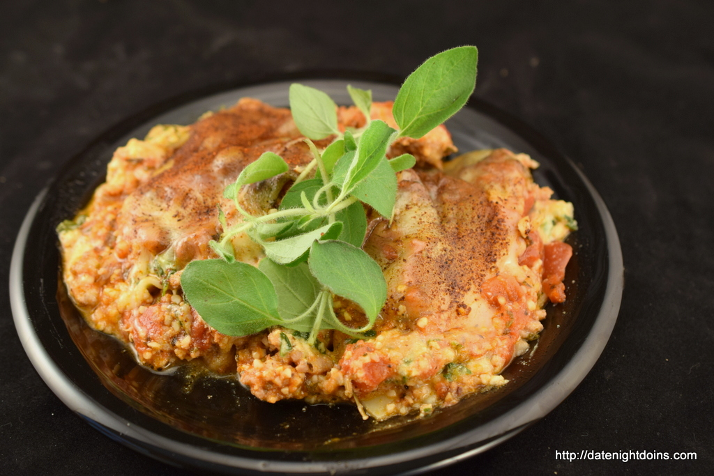 Traditional Sausage Lasagna - Date Night Doins BBQ For Two