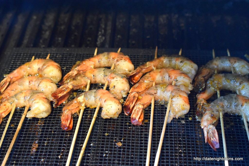 Orange-Ginger Shrimp Skewers Recipe — Dishmaps