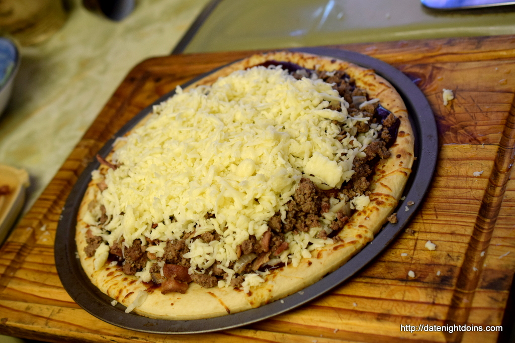 Western Bacon, Cheese Burger Pizza, wood pellet, grill, BBQ, smoker, recipe