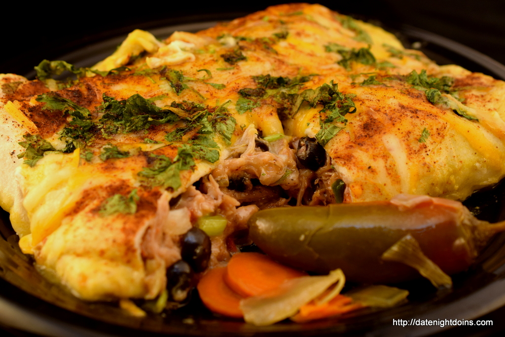 Smokey Pulled Pork Enchiladas, wood pellet, grill, outdoor kitchen, BBQ,smoker, recipe