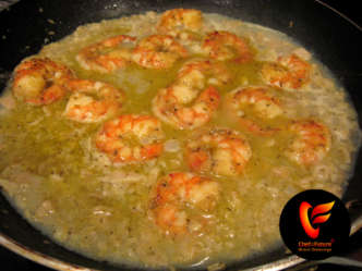 Cajun Shrimp, Zesty White Clam Sauce, Guest Chef, Recipe, how to BBQ, Ken Patti BBQ