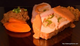 Video Green Chile Stuffed Pork Loin w/ Creamy Chipotle Sauce